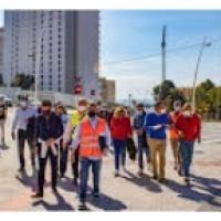 Benidorm.- Las obras del Plan Parcial 2/1 configuran la trama urbana de Poniente..EL ALCALDE TO SE CARGA LA UNICA ZONA TRANQUILA DE NUESTRA CIUDAD