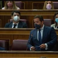 """Hoy, durante la sesión de control al Gobierno en el Congreso Agustín Almodóbar al Gobierno tras quedar España fuera de la lista de países seguros para Reino Unido: """"Defiendan y protejan el turismo"""""""