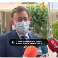 Coronavirus Valencia directo: Ximo Puig proclama que «ha llegado la hora» de que la mascarilla deje de ser obligatoria