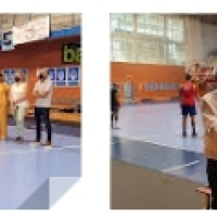 Inicio de los entrenamientos para el Balonmano Benidorm