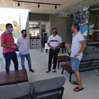 El Club de Pádel La Nucía se amplía con una nueva zona de cafetería y descanso