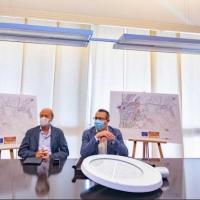 Benidorm inicia en la zona Centro la renovación del alumbrado, financiada al 50% con fondos de la UE, para alcanzar un 79% de ahorro energético